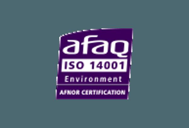 Logo Certificat Iso 14001