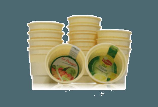 Gobelets boissons pré-dosées