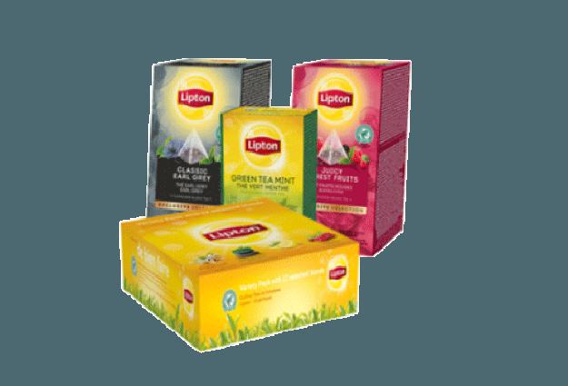 Gammes thés Lipton